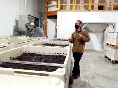 """Wine is a value-added product.  Farm-fermented beverages are the way farmers can survive,"" notes Mike Beneduce, Jr., Winemaker and Vineyard Manager of Beneduce Vineyards.  Wine Casual"