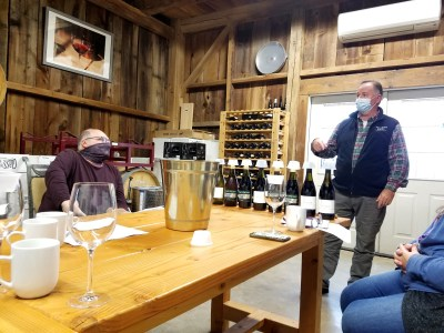 Mount Salem Vineyards owner, Peter Leitner focuses on producing wines made from Austrian grape varieties.   Wine Casual