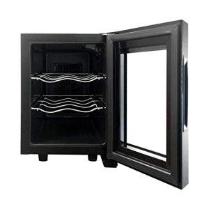 Magic Chef MCWC6B 6-Bottle Single-Zone Black Wine Cooler, 13 x 23 x 18 interior