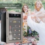 NutriChef PKDSWC18 Bottle Stainless Steel Dual Zone Thermoelectric Wine Cooler - BEST Dual Zone Wine Cellar?