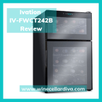 Review of the Ivation IV-FWCT242B, 24-Bottle Dual Zone Thermoelectric Red & White Wine Cooler