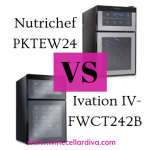 Best  Wine Cooler: Battle Between NutriChef PKTEWBC24 & Ivation IV-FWCT242B