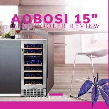 Aobosi 28 bottle wine cooler
