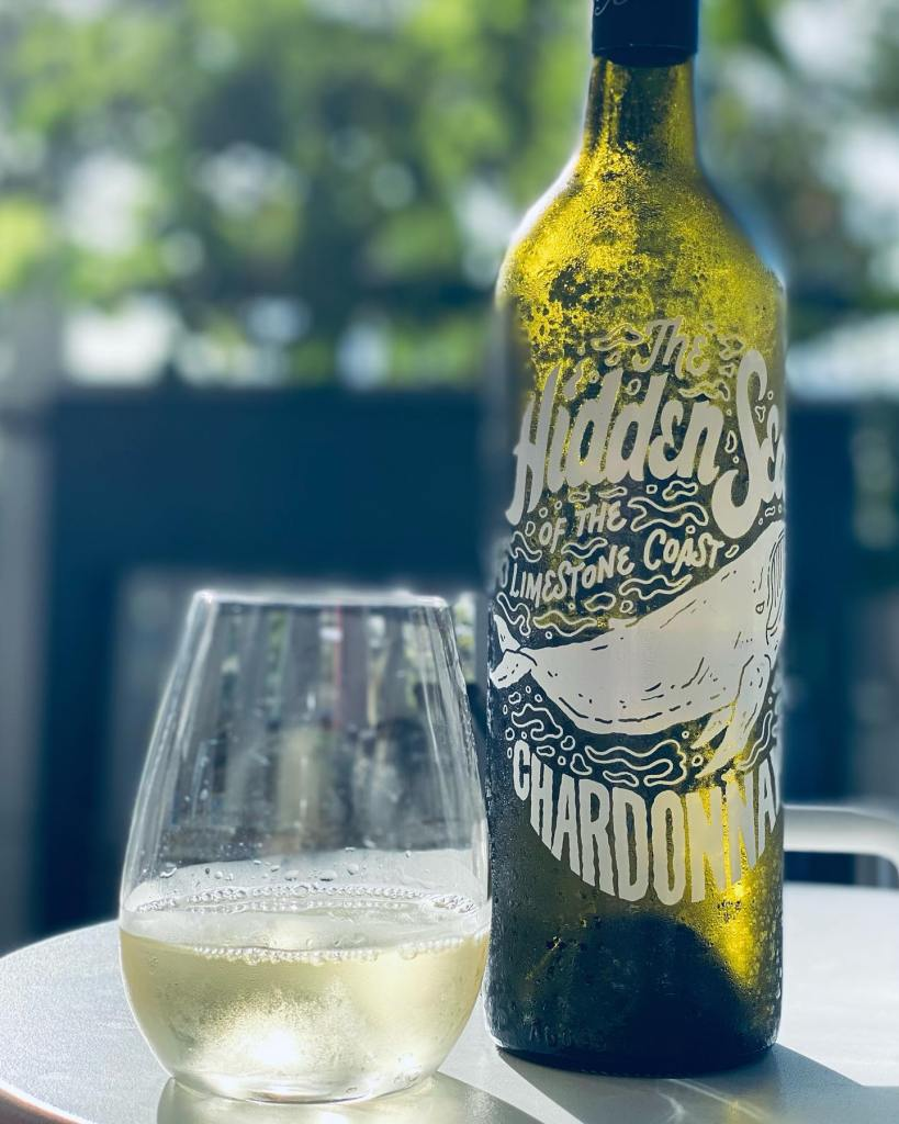 The Hidden Sea Chardonnay, Wine Chats Podcast Sponsor