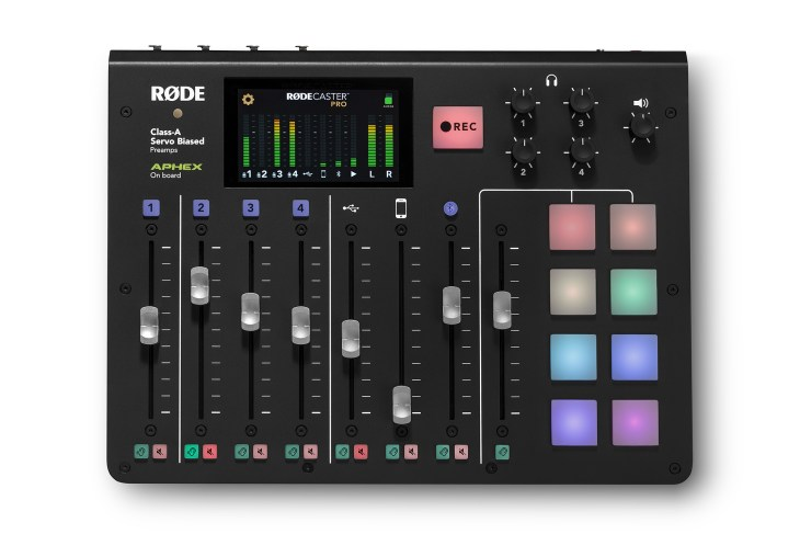 Rodecaster pro, rode sound equipment