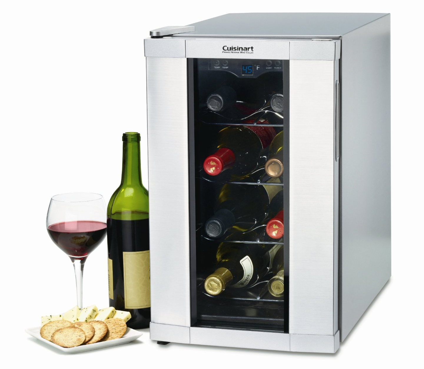 Wine Refrigerator Reviews >> Cuisinart 8 Bottle Private Reserve Wine Cooler Review