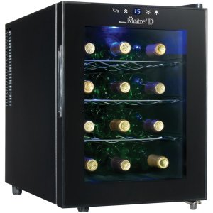 Danby DWC1233BL-SC 12 Bottle Wine Cooler Design