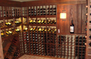 Wine Cellar In a Basement
