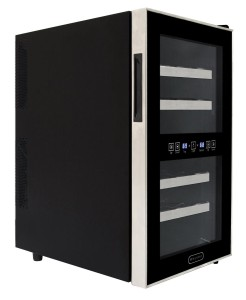 Whynter WC-181DS 18 Bottle Dual Zone Touch Control Wine Cooler