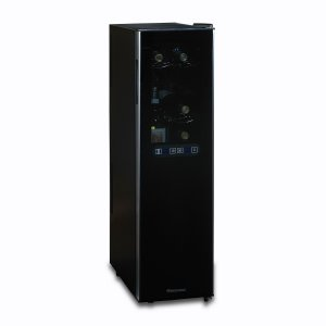 Wine Enthusiast Silent 18 Bottle Dual Zone Wine Cooler