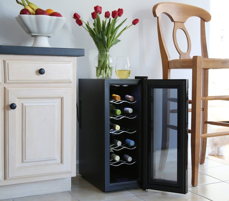Ivation 12 Bottle Thermoelectric Wine Cooler