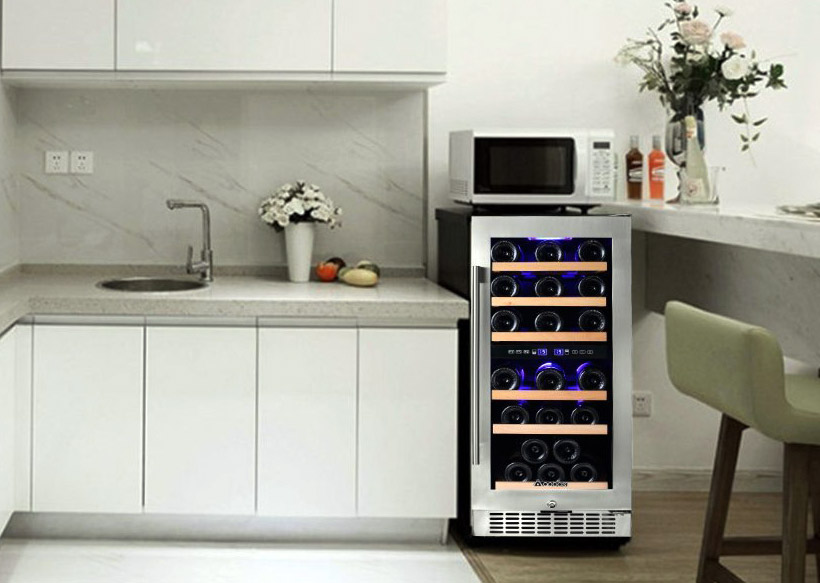 Aobosi 30 Bottle Dual Zone Wine Cooler: Pros and Cons