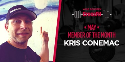 May's Member Of The Month: Kris Conemac