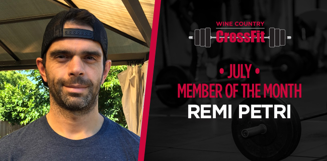July Member Of The Month: Remi Petri
