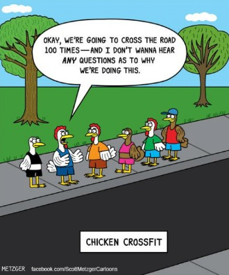 wine country crossfit why did the chicken cross the road
