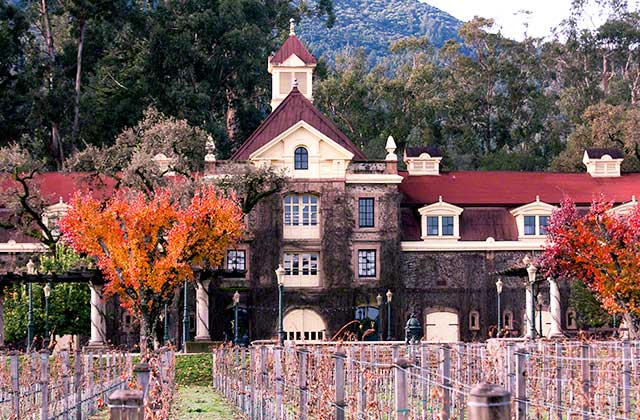 Napa Valley 100 year old wineries