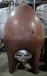 concrete fermenting egg