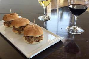 Pork Sliders at Daou