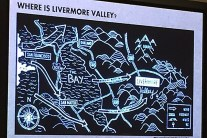 Livermore Valley - the wine gap