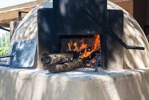 stone oven heating