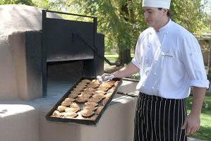 Empanadas stone oven