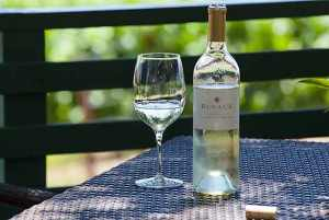 Picnic at Rusack Vineyards in Santa Barbara wine country