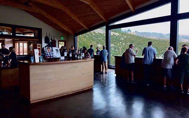 Halter Ranch tasting room