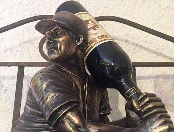 Baseball and wine at Rio Seco Winery