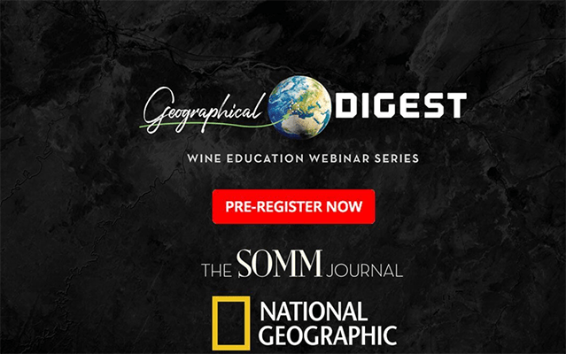 virtual wine with National Geographic