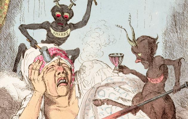 Hangover demons