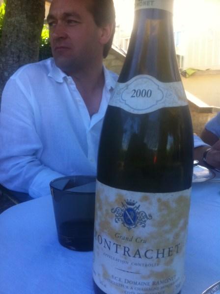 alex-moreau-drinking-ramonet-montrachet