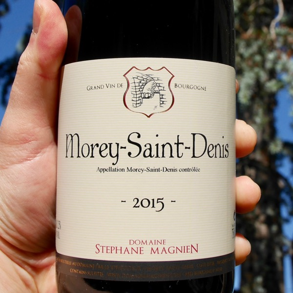 Stephane Magnien Morey Saint Denis 2015 by Paul Kaan for Wine Decoded Centered