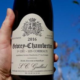 SC Guillard Gevrey-Chambertin 1er Cru 'Corbeaux' 2016
