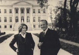 Corine and Andre Mentzelopoulus of Chateau Margaux