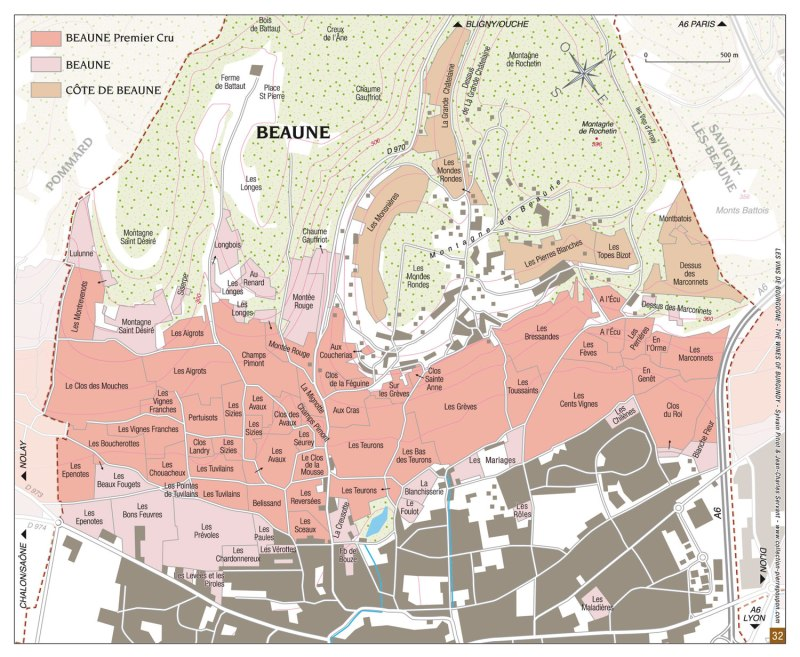 Vineyard-Map-of-the-Village-of-Beaune