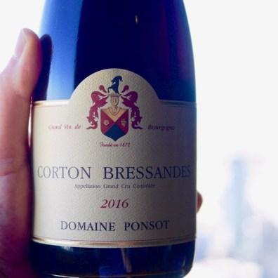 Ponsot Corton Bressandes 2016