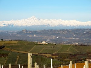 Monte Viso on a clear day