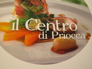 "Cookbook of ""Il Centro di Priocca"" restaurant"