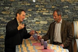 Axel and Jean-Francois Maye of Simon Maye in St.-Pierre-de-Clages, Valais, Switzerland