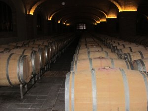 Aging wines to their perfection takes time and money.