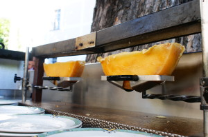 Raclette oven gets used a great deal each day.