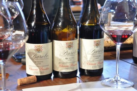 "Chiara Boschis' three Barolo ""children"""