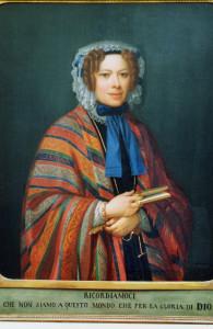 Giulia Colbert Falletti, the last Marchesa of Barolo, in her later years.