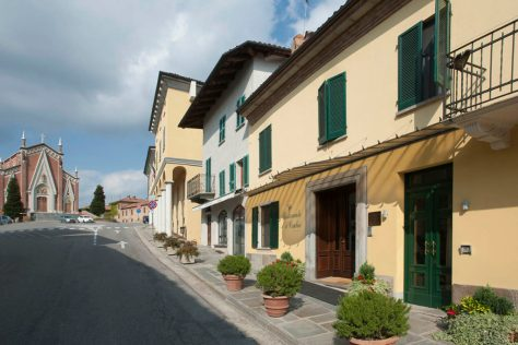 Ristorante il Centro in the center of the Roero town of Priocca d'Alba.