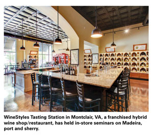 Winestyles interior store photo
