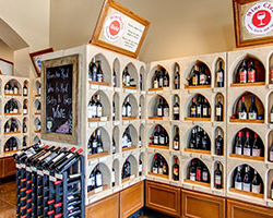 wine alcoves for bold wines
