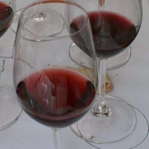 Burgundy shades