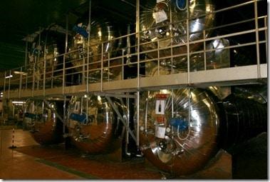 Charmat vats