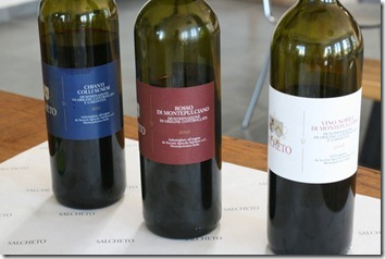 three main wines