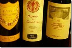 the Montalcino three